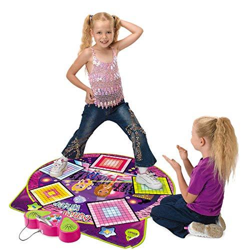 QXMEI Jeu éducatif pour Les Enfants en Bas âge Puzzle Tapis De Musique Jouet Couverture De Danse Unique 91 * 93 Cm