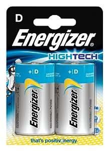 Energizer High Tech Batteries - 2 Pack