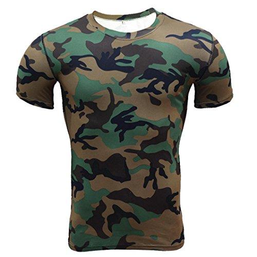 Herren t Shirt mit Brusttasche Slim fit t Shirt weiß Batman t Shirt männer unterziehshirt Herren ()