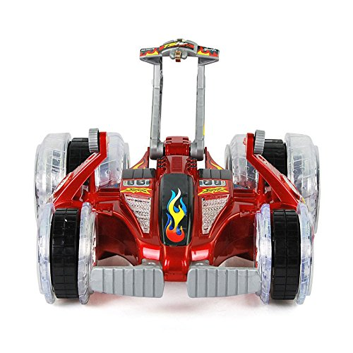 Multifunktionsständer Walking Rotation Multi-Mode Drift Drahtlose Fernbedienung Stunt Racing Racing,Red