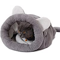 Speedy Pet Saco de dormir del gato Saco autoalmacenante del gatito 20 at Sleeping Bag Self-Warming Kitty Sack 20 ( Color : Grey )