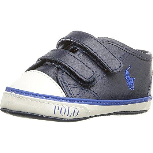 Polo Ralph Lauren Daymond Ez Layette Marine Leder 17 EU (Ralph Lauren Polo Hausschuhe)