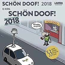 Schön doof! 2018: Postkartenkalender