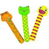 3er Set Tauchspielzeug aus Neopren mit Sand befüllt, ideale Schwimmhilfe bzw. Tauchhilfe für Kinder. Das Wasserspielzeug eignet sich fürs Freibad, Schwimmbad, See oder das Meer. Inhalt des Tauchset besteht aus Tauchstäbe (alle Farben)