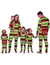 Isshe Pyjama Combinaison Noel Famille Pyjamas Une Piec Pyjama De