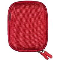 Trendz TZSCCRD Etui universel compact pour Téléphone Portable Rouge