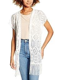 Vero Moda Vmcarla 2/4 Long Cardigan Dnm, Gilet Femme