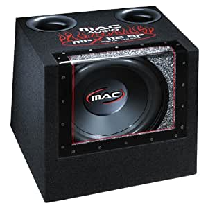 Mac Audio MPX 112 BP Caisson de basses avec passe-bande 250 / 800 W 30 cm Noir (Import Allemagne)