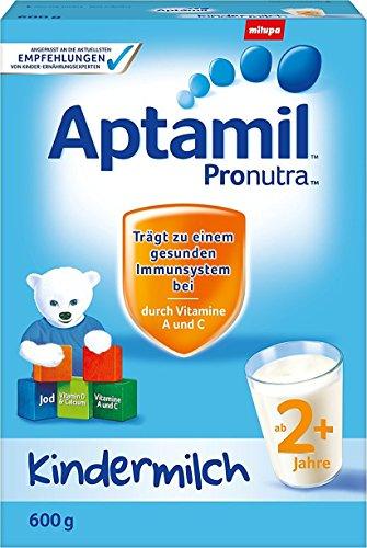Aptamil Kinder-Milch 2+ ab dem 2. Jahr, 8er Pack (8 x 600g)