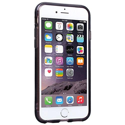 WE LOVE CASE Coque iPhone 7, Coque de Protection en Premium Hard Plastique Mince Clair Dur Coque iPhone 7 Anti Choc Bumper, Anti-Rayures Anti-dérapante Coque Apple iPhone 7 Wildbell Sourire