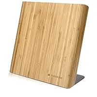 Navaris - Home & Living - Pretty/UsefulPorta ordine e stile in cucina con il sostegno magnetico per coltelli di NavarisESSENZIALE & PRATICOLa tavoletta porta coltelli in bambù offre molto spazio per riporre in maniera ordinata coltell...