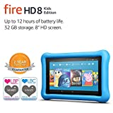 Fire HD 8 Kids Edition Tablet, 8 Display, 32 GB, Blue Kid-Proof Case (Previous Generation - 7th)
