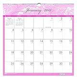 House of Doolittle Brustkrebs Bewusstsein Wandkalender 12 Monate Januar 2015 bis Dezember 2015, 12 x 12 Zoll, rosa und grau, recycelt (HOD3671-15)
