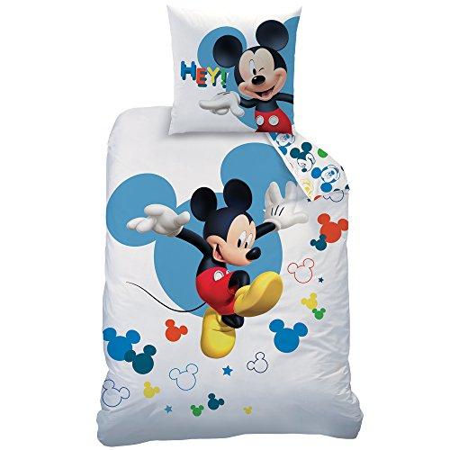 Disney-Juego, 100% algodón, Blanco, 140x 200+ 63x 63
