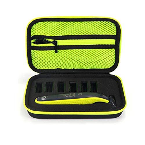 Sansee Tasche für Phillips OneBlade - Eva Schutzhülle für Rasierer, Aufsätze und Ersatzklingen, Trimmer - Reisetasche Schutzhülle Case Kompatibel mit OneBlade QP2530/2520 und QP2 Series