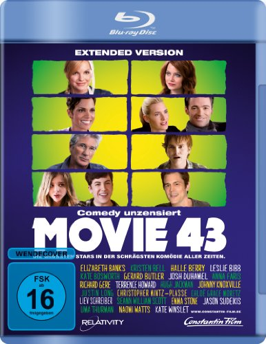 Bild von Movie 43 - Extended Version [Blu-ray]