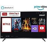 TCL 125.64 cm (50 inches) 4K Ultra HD Smart LED TV 50P65US (Black) (2019 Model)   Built-In Alexa