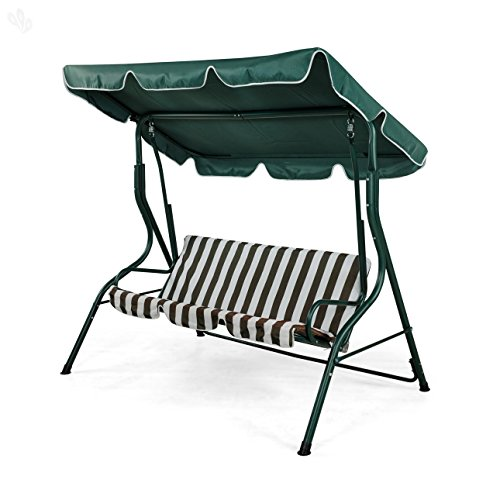 Royal Oak Swing Bench (Green)