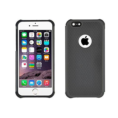 Phone case & Hülle Für IPhone 6 Plus / 6S Plus, Fußball Textur Kunststoff Fall ( Color : Pink ) Black
