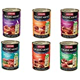 Animonda Gran Carno Hundefutter Adult Probierpack Adult Mix 1, 1er Pack (1 x 6 x 800 g)