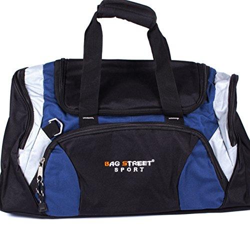 Subke A2040030-1 - Borsa sportiva Unisex adulto, colore: blu Blu scuro Blu scuro
