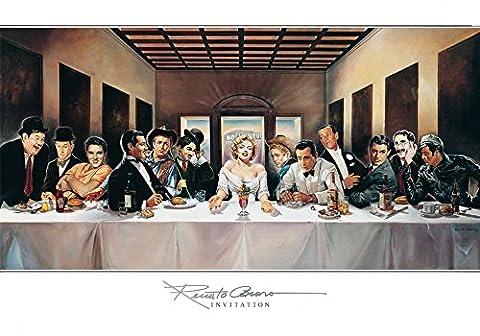 Renato Casaro Poster / Kunstdruck Invitation 100 x 70 cm