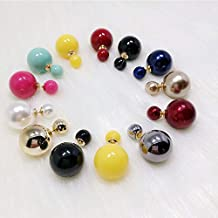 10 pares de coloridos pendientes Sweet Lady y Lady Ear Stud