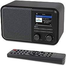 Radio Ocean digital con Internet WiFi WR-330 Radio para mesa de noche con receptor