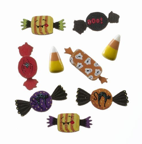 Jolee's Boutique Scrapbooking Embellishments, Mini Halloween Candy by Jolee's Boutique