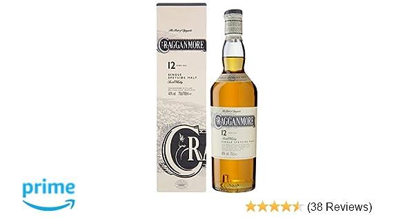 cdfadd838 Cragganmore 12 Years Old Single Malt Scotch Whisky