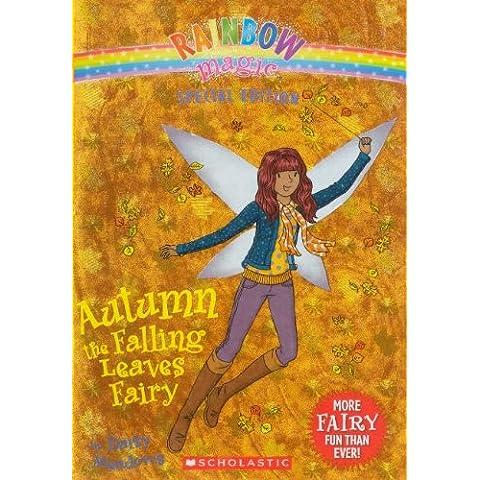 Autumn the Falling Leaves Fairy - Autumn Falling Leaves