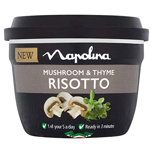 Napolina Mushroom and Thyme Risotto, 320 g, Pack of 6
