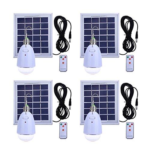 Ampoule à LED solaire de secours à la maison E27...