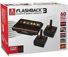 Console Atari Flashback 3 avec 2 manettes et 60 jeux [Importación francesa]