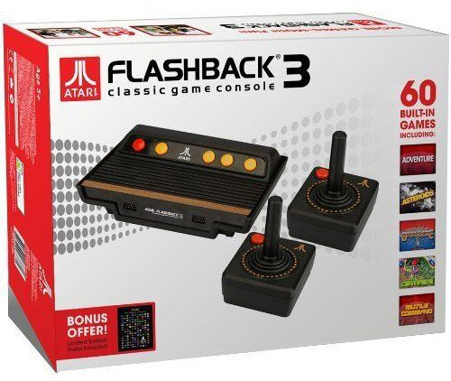 console-atari-flashback-3-avec-2-manettes-et-60-jeux-importacion-francesa
