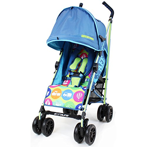 iSafe buggy Stroller Pushchair - Adventurer (Complete With Rain cover)