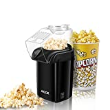 Aicok Machine à Pop Corn, Popcorn Popper à Air Chaud Sans huile, Pop Corn Machine...