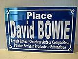 DAVID BOWIE plaque de rue objet ...