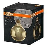 Osram LED-Lampe | Sockel E27 |Warm White (2400 K) | ersetzt Glühlampen mit 34 W | 4,00 W | Klar | Vintage 1906 LED