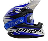 Caschi moto WULF ADVANCE Adulto Casco motocross ATV Enduro MX Sportivo Casco Off Road racing Casco...