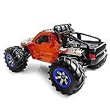 HAPQIN Feiyue FY12 1:12 RC Offroad-Amphibien-Geschwindigkeits-LKW 30km / h / 2.4GHz Allradantrieb / 390 Starker magnetischer Kohlenstoff Gebürsteter Motor