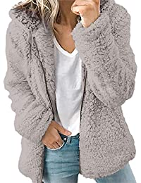 ★Rovinci★ Hola! Las Mujeres del botón sólido del Bolsillo de Manga Larga Elegante Chaqueta Informal de Invierno cálido Parka Outwear Ladies Overcoat