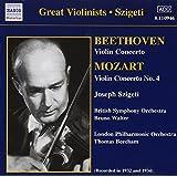 Mozart : Concerto Pour Violon N 4 K218 - Beethoven : Concerto Pour Violon Op.61