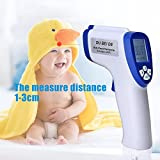 Vmoni Infrared Thermometer Temperature Gun For Body With Back LCD Display Light