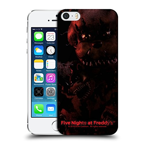 Official Five Nights At Freddy's Nightmare Freddy Game 4 Hard Back Case for iPhone 5 iPhone 5s iPhone SE