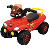 AK Sport Cars Steerable ATV Ride-On