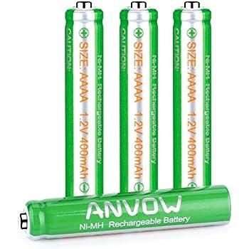 AAAA Batterien, wiederaufladbare aaaa akku, ANVOW AAAA