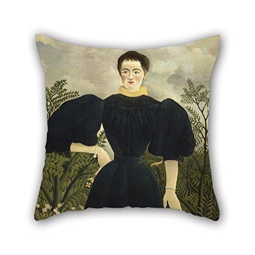 usseau, bekannt als Paris, Frankreich–Portrait Of Madame M; Überwurf Kissen 45,7x 45,7cm/45von 45cm Best Wahl für Schlafzimmer, Ihr Home Theater Boden Divan Brit (Frankreich-thema Schlafzimmer)