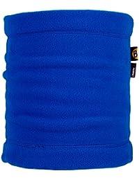 Buff - Braga de cuello para niños (forro polar), color Azul (Harbor), talla única