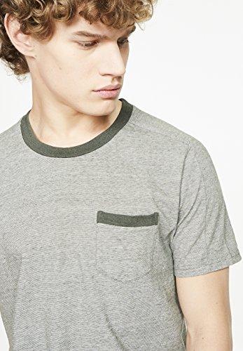 ARMEDANGELS Herren T-Shirt aus Bio-Baumwolle - Joris - GOTS, ORGANIC, CERES-008 graphite green